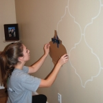 DIY Moroccan-Style Wall Stencil Tutorial