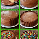 Kit Kat cake