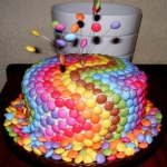 M&amp;M Cake
