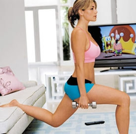 So i know some of you hate lunges. DON'T HATE. If you do them right. You will see results. There are so many variations!