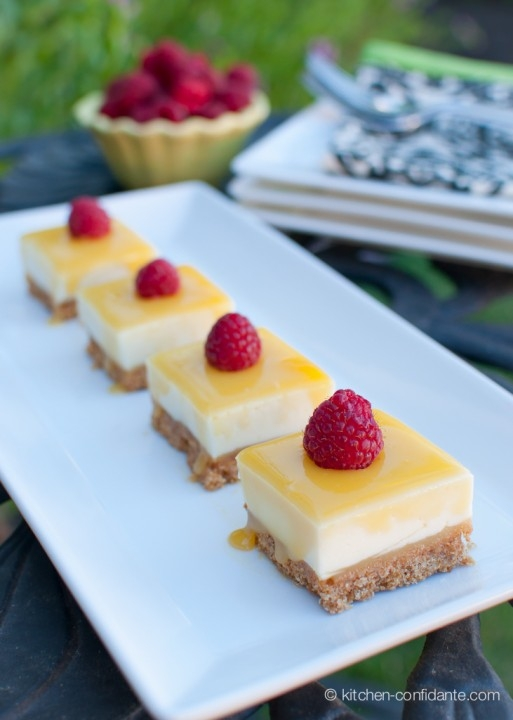 lemon curd cheese cake bars well, these just have to be good