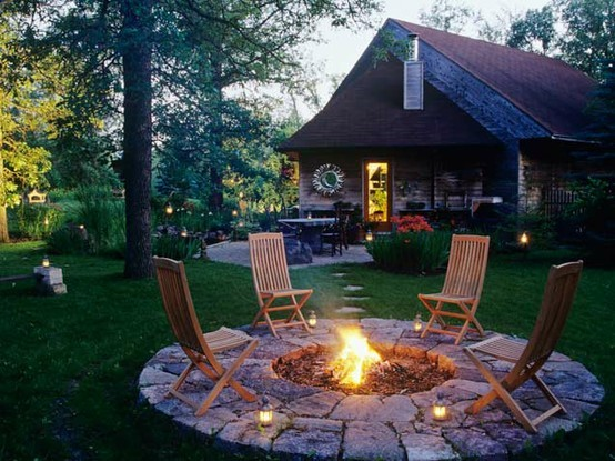 fire pit for the backyard