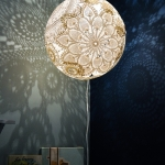 DIY Doily light